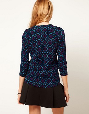 Image 2 ofASOS Dandizette Pattern Print Jumper