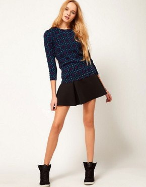 Image 4 ofASOS Dandizette Pattern Print Jumper