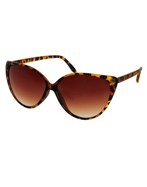 Image 1 ofRiver Island Claudia Cat-Eye Sunglasses
