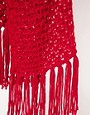 Image 2 ofASOS Textured Knit Tassel Scarf