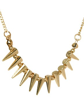 Image 4 ofASOS Mini Spike Choker Necklace