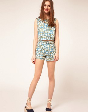 Image 1 ofASOS Shorts in Floral Print