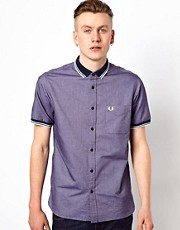 Fred Perry Shirt with Polo Collar