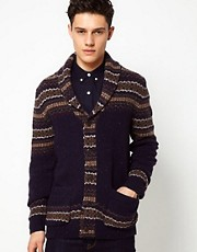 French Connection Fairisle Cardigan