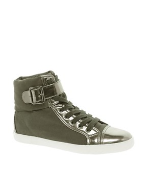 Image 1 ofASOS DIXIE High Top Trainers