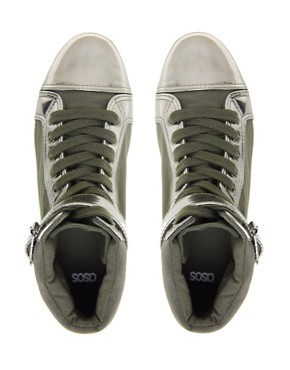 Image 2 ofASOS DIXIE High Top Trainers