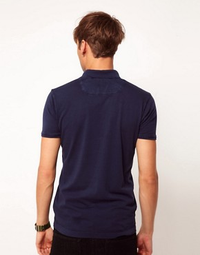 Image 2 ofDiesel T-Erinniy Neck Logo Polo