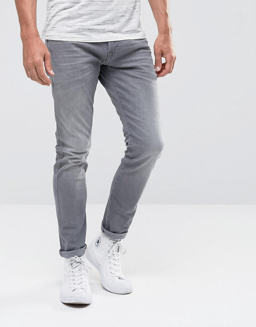 Esprit Jeans In Skinny Fit Stretch Denim - Grey 902