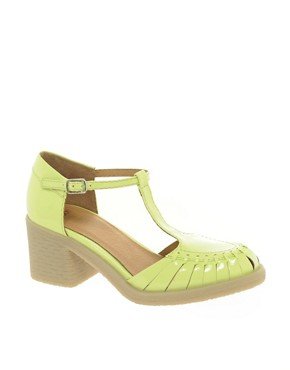 Image 1 of ASOS SALON SCOUT Heels with T-Bar