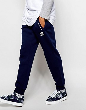 adidas Originals Superstar Skinny Trackpants in Chaos Print