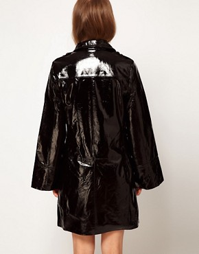 Image 2 of Kore by Sophia Kokosalaki Patent Leather Trench