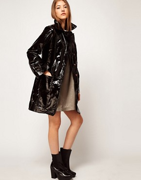Image 4 of Kore by Sophia Kokosalaki Patent Leather Trench