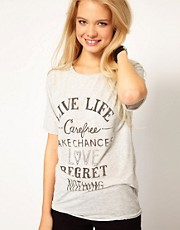 Camiseta Live Life de Denim & Supply By Ralph Lauren
