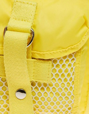 Image 2 ofASOS Mesh Pocket Backpack