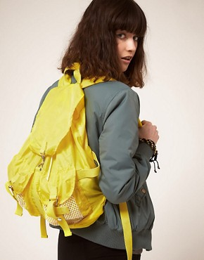 Image 3 ofASOS Mesh Pocket Backpack