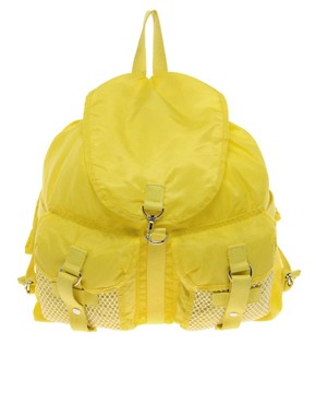 Image 1 ofASOS Mesh Pocket Backpack