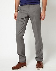 J Lindeberg Trousers Slim Fit Wool