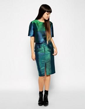 ASOS Pencil Skirt in Glitter