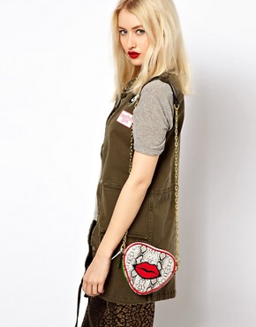 Image 3 ofPaul&#39;s Boutique Hetty Lips Cross Body Bag