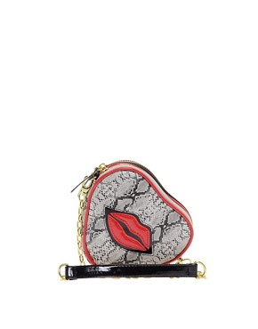 Image 1 ofPaul&#39;s Boutique Hetty Lips Cross Body Bag