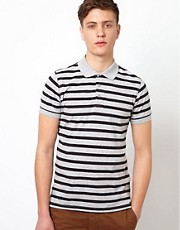 Ben Sherman Polo with Breton Stripe