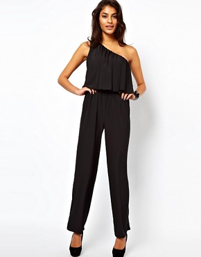 Image 4 ofASOS Jumpsuit with One Shoulder