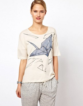 Image 1 ofSelected Origami Print T-Shirt