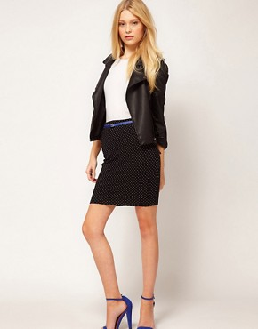 Image 1 ofVero Moda Pencil Skirt With Belt