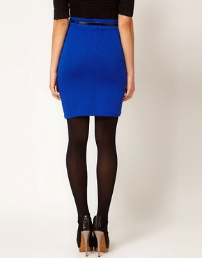 Image 2 ofVero Moda Pencil Skirt With Belt