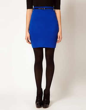 Image 4 ofVero Moda Pencil Skirt With Belt