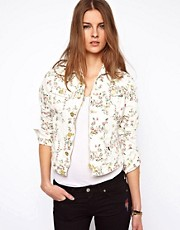 Vivienne Westwood Anglomania For Lee Floral Denim Jacket
