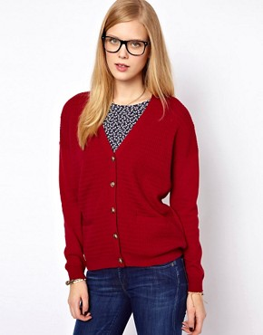 Image 1 ofNW3 Oversized Pocket Detail Cardigan