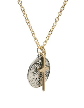 Image 4 ofASOS Coin Charm Necklace