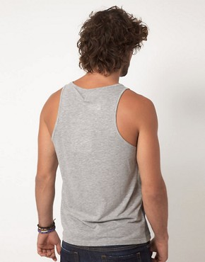 Image 2 ofASOS Vest With Hem Stripe
