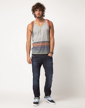 Image 4 ofASOS Vest With Hem Stripe