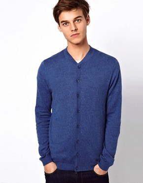 Image 1 ofASOS Baseball Neck Cardigan