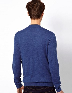 Image 2 ofASOS Baseball Neck Cardigan