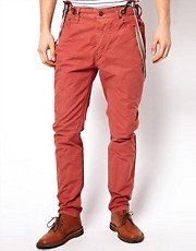Selected Chinos With Braces