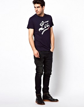 Image 4 ofLee T-Shirt Logo Varsity Slim Fit