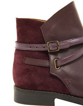 Image 2 ofASOS ALTITUDE Leather Jodhpur Boots
