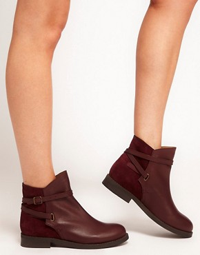 Image 3 ofASOS ALTITUDE Leather Jodhpur Boots
