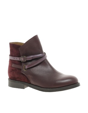 Image 1 ofASOS ALTITUDE Leather Jodhpur Boots