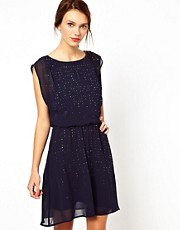 Warehouse Embellished Dress