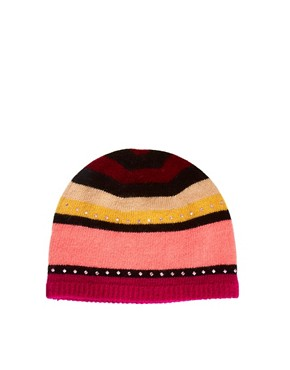 Image 2 ofAlice Hannah Stripe Diamante Hat