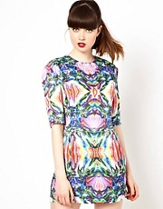 Sister Jane Dress in Digital Jewel Print