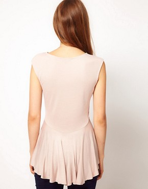 Image 2 ofWarehouse Hi Lo Peplum Top