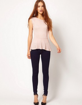 Image 4 ofWarehouse Hi Lo Peplum Top