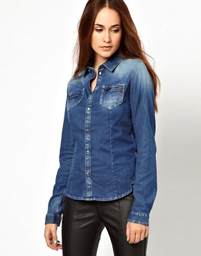 Image 1 ofG-Star Denim Shirt