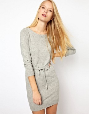 Image 1 ofRag &amp; Bone/Jean Knitted Dress With Drawstring Waist
