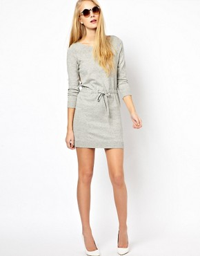 Image 4 ofRag &amp; Bone/Jean Knitted Dress With Drawstring Waist
